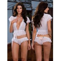 Buy cheap Sheer Satin Eco Friendly Knot Personalised Bridal Underwear from wholesalers