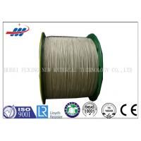 Buy cheap High Tenacity Brass Coated Wire For Conveyor Belts / Tire Cord Fabric from wholesalers