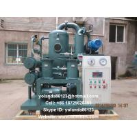 Buy cheap Insulating Oil Filtration Equipment/Vacuum Transformer Oil Water Separator ZYD-D from wholesalers