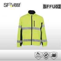 Buy cheap High visible reflective clothing sweatshirt polyester 210T with waterproof perfermance product