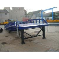 Buy cheap Mobile loading dock 8 ~ 12 T Capacity Manual / Electrical 900mm range for Work Shop from wholesalers