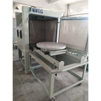 Buy cheap Turntable Dry Manual Blasting Machine 1200*1200*1950mm Dimension product