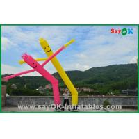 Buy cheap 7m Rip Stop Nylon Advertising Inflatable Air Dancer 950W Air Pump With LED from wholesalers