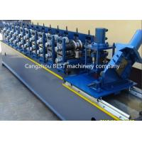 Buy cheap Steel Garage 2' And 3' Track Door Guide Roll Forming Machine 3kw Motor Power from wholesalers