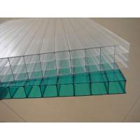 Buy cheap Clear weather resistance Twin walls Polycarbonate Hollow Sheet 12 / 14 / 16 mm from wholesalers