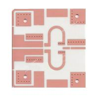 Buy cheap Hybrid Laminate High Frequency PCB With Electrolytic Gold 4 Layer Board from wholesalers