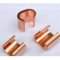 Buy cheap Copper C cable clamp, Copper material, Goodelectricconduction from wholesalers