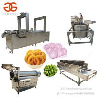 Buy cheap 300kg/h Automatic Onion Ring Making Machine Onion Rings Frying Machine from wholesalers