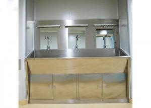 Buy cheap 3 Mirrors Hand Washing Bathroom Basin Cabinets With Three Positions product