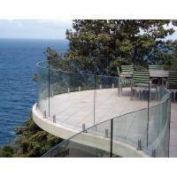 Buy cheap Unique Patio Laminated Glass Modern Deck Railing product