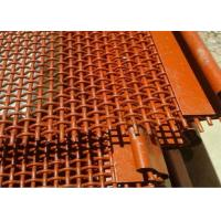 Buy cheap 65Mn High Carbon Stone Crusher Self Cleaning Screen Mesh  For Quarry Equipment from wholesalers