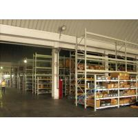 Buy cheap Supply Chain Carton Flow Rack Pallet Racking Shelves Placed Roller / Channel Shaped Bracket product