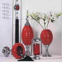 Buy cheap Red Ceramic Vases from wholesalers