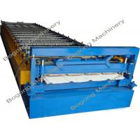 Buy cheap Trapezoidal Sheet Roof Panel Roll Forming Machine For Light Steel Construction from wholesalers