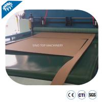 Buy cheap automatic feeding and cutting inline paper cardboard slip sheet laminating machine from wholesalers