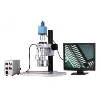 Buy cheap VGA Color Camera 3D Stereo Zoom Video Microscope with Magnification 25X-152X from wholesalers