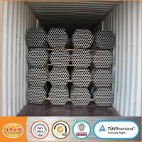 Buy cheap gi pipe list ! 1.5 inch DN40 48.3mm scaffolding tube pre galvanized steel pipe price from wholesalers