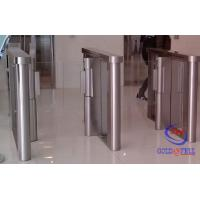 Buy cheap Card / Wrist Bands Reader Electronic Turnstile Door 304 Stainless Steel Custom from wholesalers