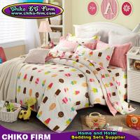Buy cheap CKKH006-CKKH010 205TC Cartoon Design Printed King Size 100% Cotton Bedding Sets from wholesalers