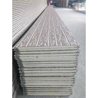 Buy cheap exterior metal cladding wall panel polyurethane insulation wall panel from wholesalers