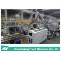 Buy cheap Black Color Wpc Extrusion Line , Small Size Wpc Profile Extrusion Machine from wholesalers