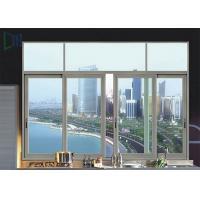 Powder Coating Aluminium Sliding Windows Customized Size Design Sound Insulation