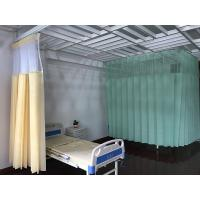 Buy cheap Disposable Drilling Mesh Hospital Cubicle Curtain , Flame Retardant Non - Woven Material from wholesalers