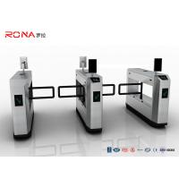 Buy cheap Anti Collision Pedestrian Swing Gate Face Recogntion RFID 900mm Arm Length CE Approved from wholesalers