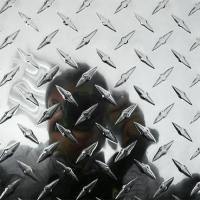 Buy cheap 3003 H22 Aluminum Diamond Tread plate sheet / checker plate in China from wholesalers