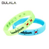 Buy cheap Debossed color filled silicon wristband, Debossed silicone bracelet, Custom logo rubber bracelet from wholesalers