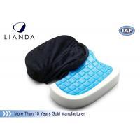 Memory Foam Cushion Gel-enhanced Comfort Seat OEM , Gel Coccyx Seat Cushion