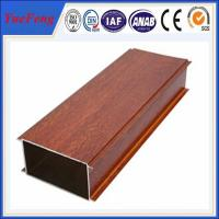 Buy cheap Hot Sale Wood Grain Aluminium Alloy Pipes, aluminum tubes extrusion from wholesalers