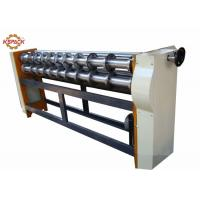 Buy cheap Manual Feeding Six Bar Slitter Scorer Machine For Corrugated Carton Box from wholesalers