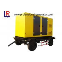 Buy cheap Trailer Type Diesel Generating Mobile Power Generator 100kva 80kw Soundproof with CUMMINS Engine product