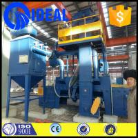 Buy cheap factory price china belt mesh shot blasting machine for cleaning metal surface from wholesalers