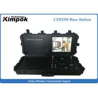 Buy cheap 300Mhz~4.4Ghz COFDM Receiver with Pelican Suitcase , Built-in Battery Base Station from wholesalers
