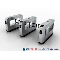Buy cheap High Speed Glass Swing Barrier Gate Retractable With UHF RFID Reader from wholesalers