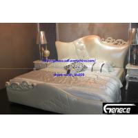 Buy cheap New Design Girls Bedroom King Leather Bed from wholesalers