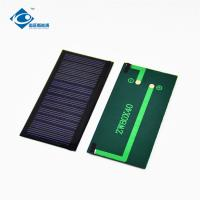 Buy cheap 6V 0.43W mini Epoxy Resin Solar Panel for solar panel charger ZW-8040-6V product