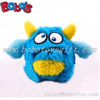 Buy cheap ECO-friendly material blue monster pet toy plush stuffed dog toy with squeaker from wholesalers