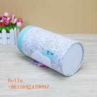 Buy cheap Colored Handmade Paper Box Packaging 350g Thickness With Round Shape from wholesalers