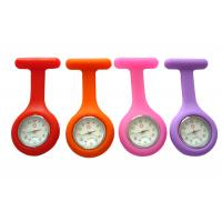 Top quality Night Shift Japan Movement 1 ATM Water Resistant Silicone Rubber Nurse Fob Watch for sale