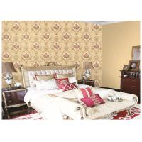 Buy cheap Italy Style Girls Bedroom Wallpaper Feature Wall , Damask Pattern Wallpaper product