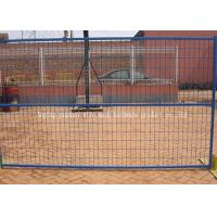Buy cheap Temporary Mild Steel Wire Fencing Panels For Secure Construction Sites from wholesalers