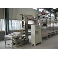 Buy cheap Soybean Cashew Nut Roasting Machine , Continuous Peanut Drying Equipment product