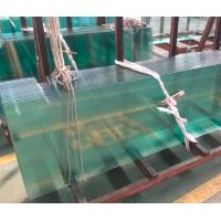 Buy cheap White Toughened Glass For Doors / Thermal Toughened Glass Wall Panels from wholesalers