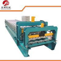 Buy cheap Metal Lathe Processed Glazed Tile Roll Forming Machine 10-15 M/Min Speed from wholesalers