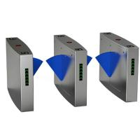 Buy cheap Full Automatic Electronic Turnstile Gates Door Bidirectional Security Flap Barrier With RFID Interface from wholesalers