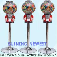 Buy cheap NYST Mini Coin Operated Capsules Gumball Toy Balls Vending Machine from wholesalers
