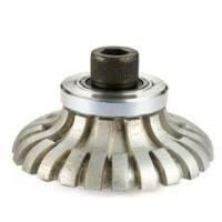 Buy cheap Metal Bond System Vacuum Brazed Router Bits F Shape For Portable Profile Machines from wholesalers
